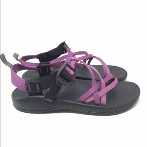 Chaco Women Size 6 Pink Purple Sandals Shoes